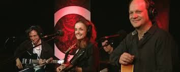 With Patty Griffin and Craig Ross on  the Q with Jian Ghomeshi