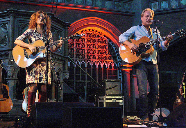 With Patty Griffin