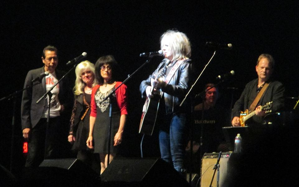 with Lucinda Williams, Rosie Flores and Kimmie Rhodes